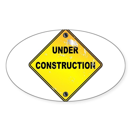 Yellow Under Construction Sign
