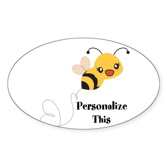 Personalized Cute Bumble Bee