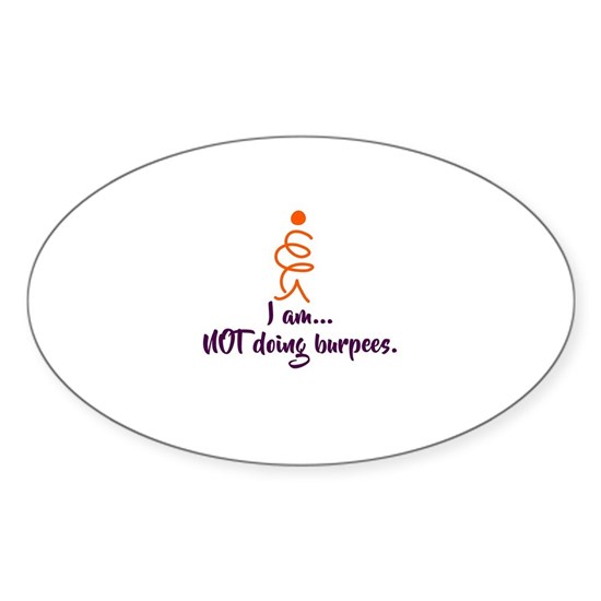 I am NOT doing burpees