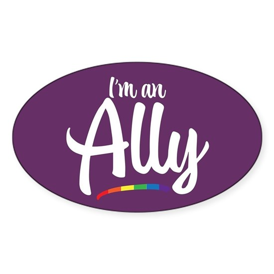 I'm an Ally - Gay Pride Full Bleed