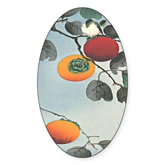 Nuthatch bird and three persimmons iPad 2 Case.pn