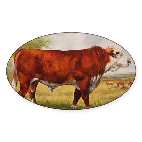 Hereford Bull The Champion