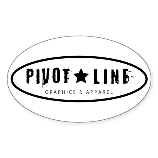 Pivot Line Graphics  Apparel Logo - Black