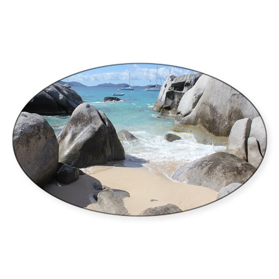 The Baths BVI Sticker