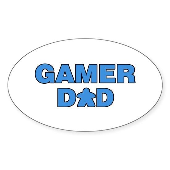 Gamer Dad Blue