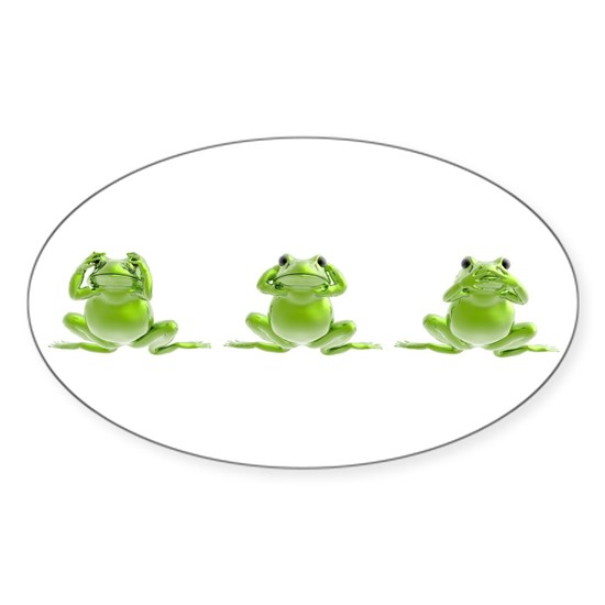 3 Frogs!