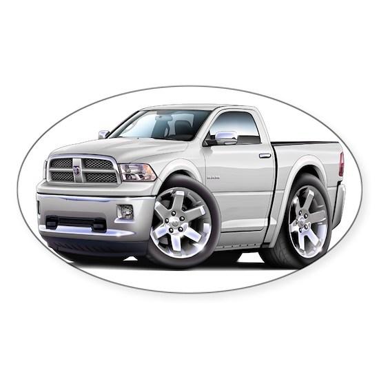 2010-12 Ram White Truck