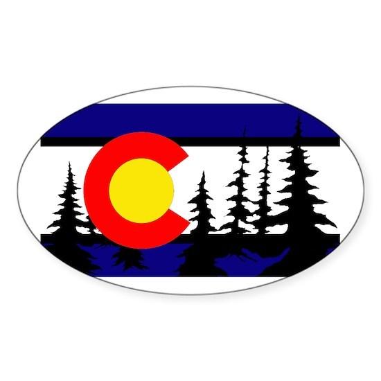Colorado Tree Silhouette