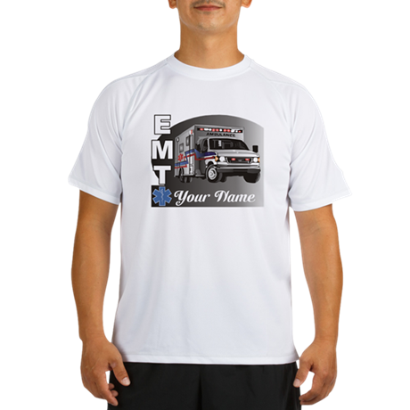 Custom Personalized EMT Performance Dry T-Shirt