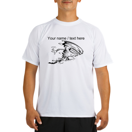 Custom Tornado Football Performance Dry T-Shirt