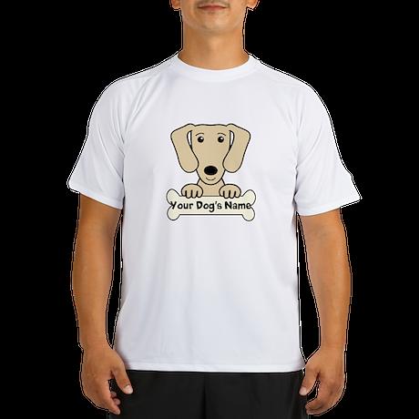 Personalized Dachshund Performance Dry T-Shirt