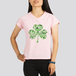 Irish Shamrock Performance Dry T-Shirt