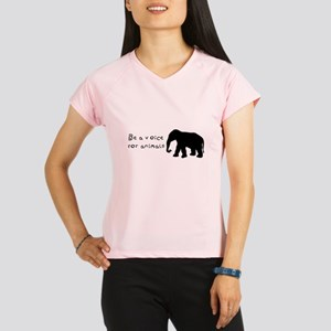 Be A Voice for Animals Performance Dry T-Shirt