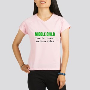 MIDDLE CHILD (green) Performance Dry T-Shirt