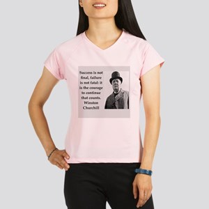 Wisnton Churchill quote on gifts and t-shirts. Per