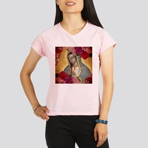 Virgin of Guadalupe with R Performance Dry T-Shirt