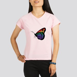 Rainbow Butterfly Gay Pride Performance Dry T-Shir
