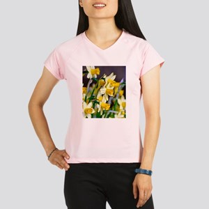Yellow Daffodils Performance Dry T-Shirt