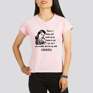 Shut Skinny Girl Up With C Performance Dry T-Shirt