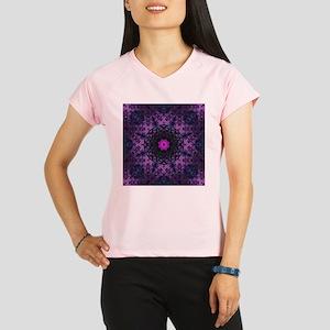 vintage bohemian purple abstract pattern Performan