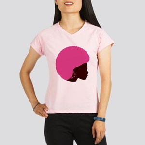Pink_Afro Performance Dry T-Shirt
