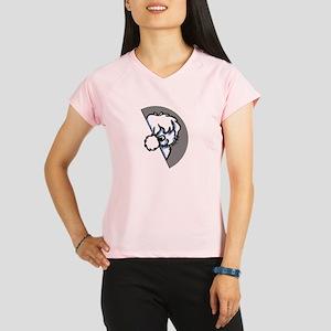 Peeking Coton de Tulear Performance Dry T-Shirt