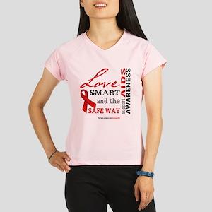 AIDS Awareness Performance Dry T-Shirt