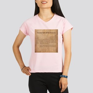 Vintage Periodic Table Performance Dry T-Shirt