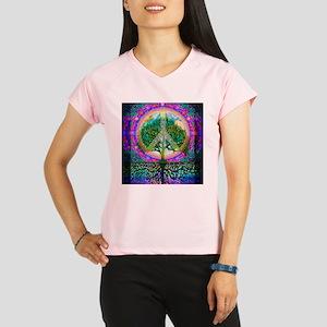 Tree of Life World Peace Peformance Dry T-Shirt