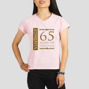 Fancy Vintage 65th Birthday Performance Dry T-Shir