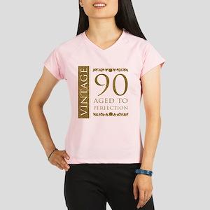 Fancy Vintage 90th Birthday Performance Dry T-Shir