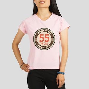55th Birthday Vintage Performance Dry T-Shirt