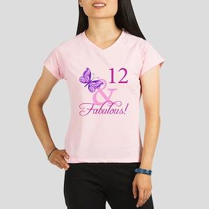 Fabulous 12th Birthday Performance Dry T-Shirt