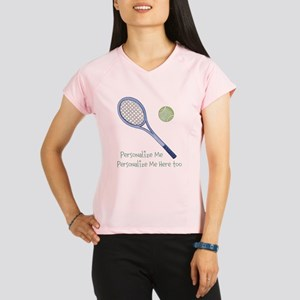 Personalized Tennis Performance Dry T-Shirt