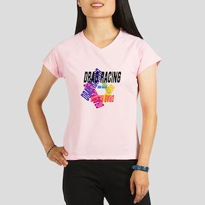 Drag Racing Performance Dry T-Shirt