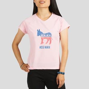 Ass Man Democrat Performance Dry T-Shirt