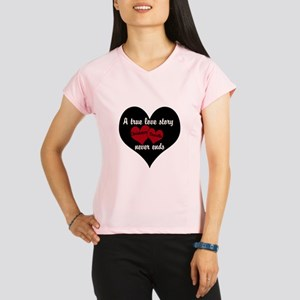 Personalize True Love Story Performance Dry T-Shir