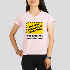Custom Image & Message Performance Dry T-Shirt