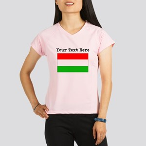 Custom Hungary Flag Performance Dry T-Shirt