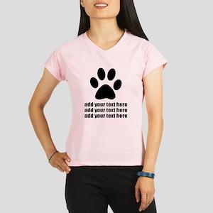 Dog's paw Performance Dry T-Shirt