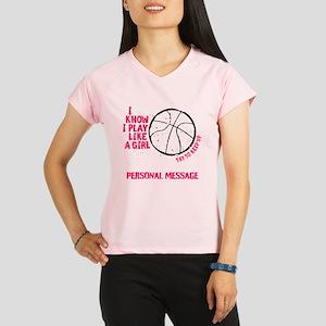 Personalized Basketball Gi Performance Dry T-Shirt