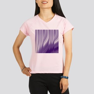 abstract purple grey Performance Dry T-Shirt