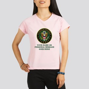 CUSTOM TEXT U.S. Army Performance Dry T-Shirt