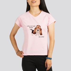 When God Made Beagles Performance Dry T-Shirt