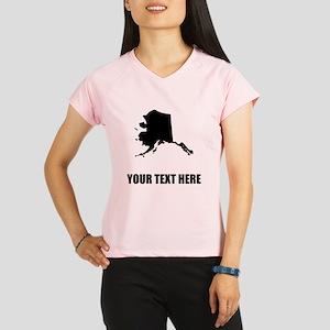 Custom Alaska Silhouette Performance Dry T-Shirt