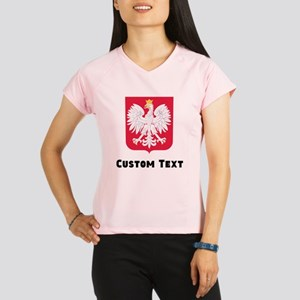Poland Coat Of Arms Performance Dry T-Shirt