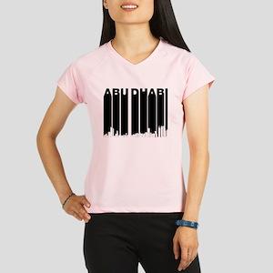 Retro Abu Dhabi Skyline Performance Dry T-Shirt