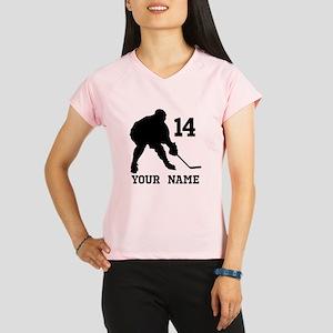 Custom Hockey Player Gift Performance Dry T-Shirt