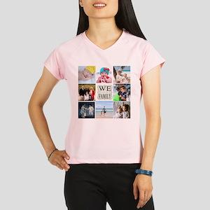 Custom Family Photo Collage Performance Dry T-Shir