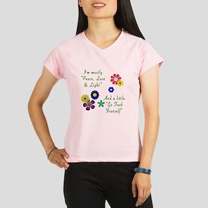 Peace, Love & Light Performance Dry T-Shirt